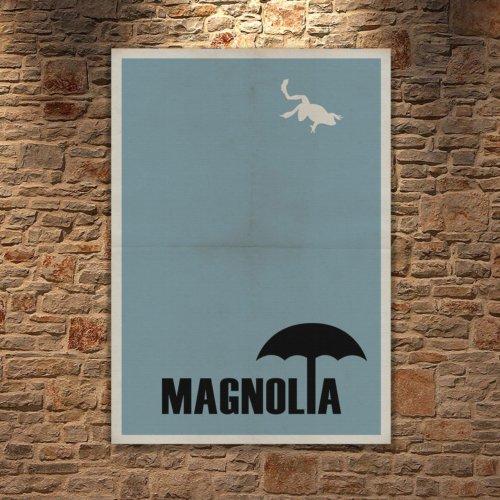 Albitablo Poster Love Magnolia Kanvas Tablo