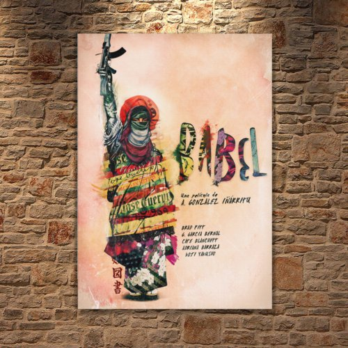 Albitablo Poster Love Babel Kanvas Tablo