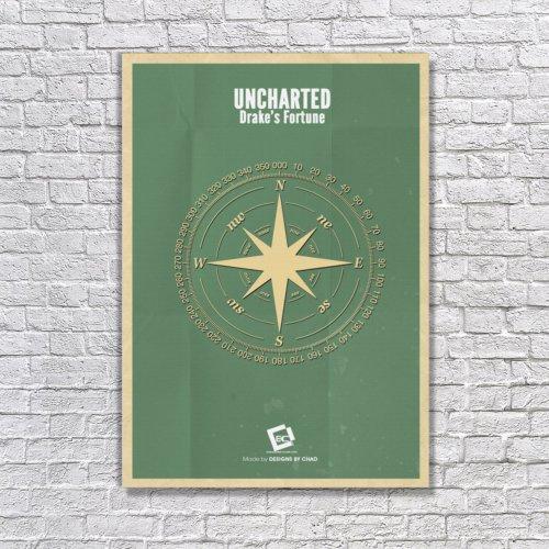 Albitablo Poster Uncharted Kanvas Tablo