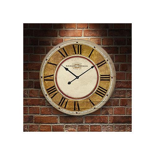 Frank Ray 60 cm MDF Wall Clock -1