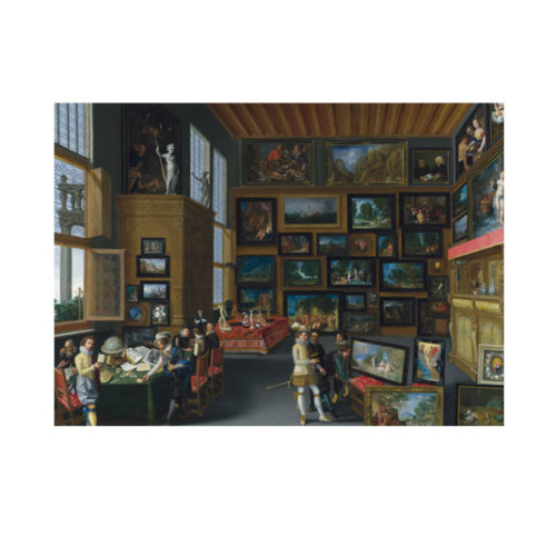 ARTİKEL Flemish - Cognoscenti in a Room hung with Pictures 50x70 cm KS-1469