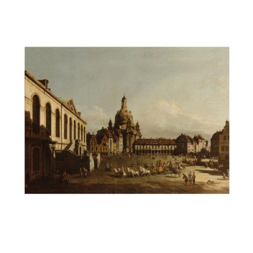 ARTİKEL Bernardo Bellotto - Neumarkt in Dresden 50x70 cm KS-1242