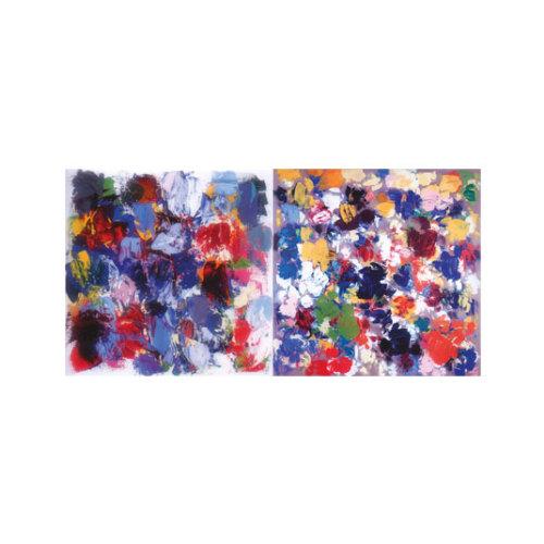 ARTİKEL Mr. Blue Sky 2 Parça Kanvas Tablo 80x40 cm KS-716