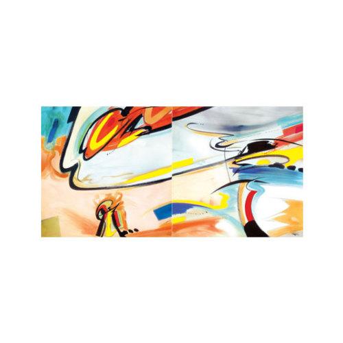 ARTİKEL Feel The Love 2 Parça Kanvas Tablo 80x40 cm KS-879