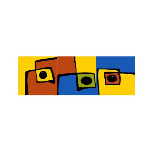 ARTİKEL Safari 3 Parça Kanvas Tablo 120x40 Cm KS-347