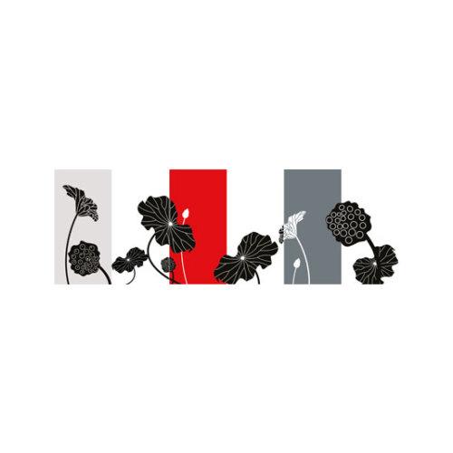 ARTİKEL Little Red 3 Parça Kanvas Tablo 40X120 Cm KS-751
