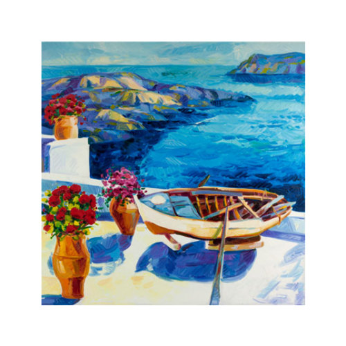 ARTİKEL Honeymoon 4 Parça Kanvas Tablo 70x70 cm KS-318