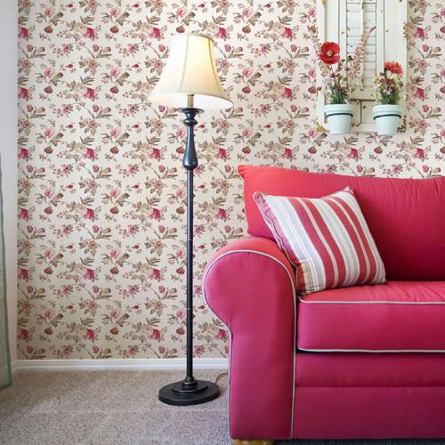 Mot Çiçekli Duvar Kağıdı 10-003501