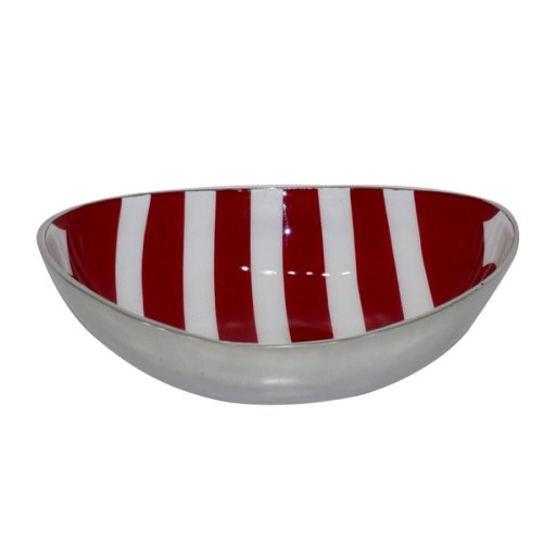 I Love Home Oval Gondol Büyük Kırmızı Beyaz