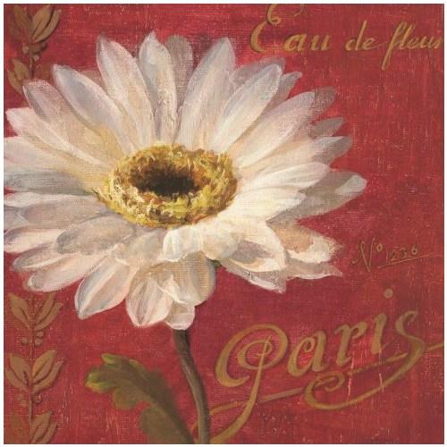 Fotocron Dekoratif Tablo Paris Çiçek