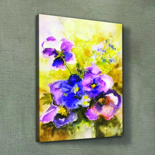 Artikel Calmness of the Flower Kanvas Tablo