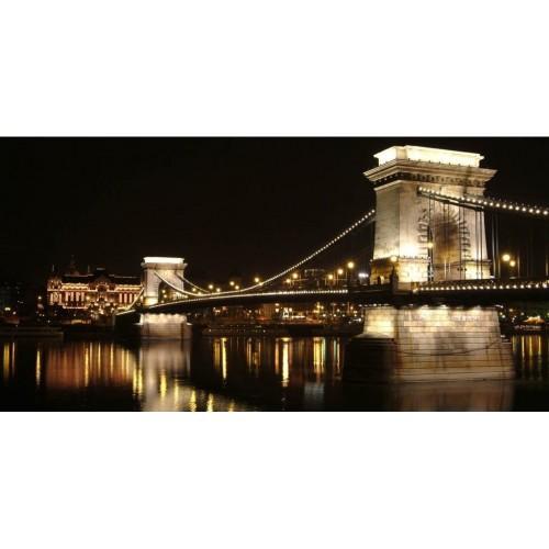 Pırıltı Vizyon Budapeşte Köprüsü Tablosu