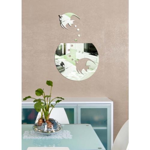 Dekoratif Kırılmaz Ayna Balık