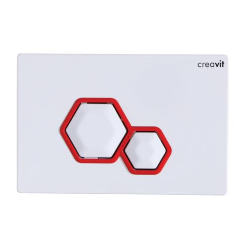 Creavit Dia Beyaz Kırmızı Kumanda Paneli