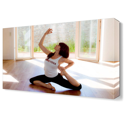 Dekor Sevgisi Yoga Pigeon Tablosu 45x30 cm