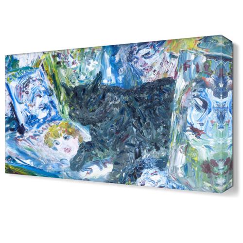 Dekor Sevgisi Jack Butler Yeats Tablosu 45x30 cm