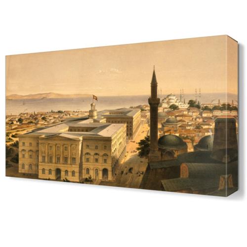 Dekor Sevgisi Ayasofya Canvas Tablo 45x30 cm
