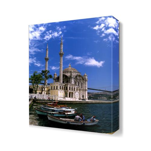 Dekor Sevgisi Ortaköy Cami Manzarası Canvas Tablo 45x30 cm