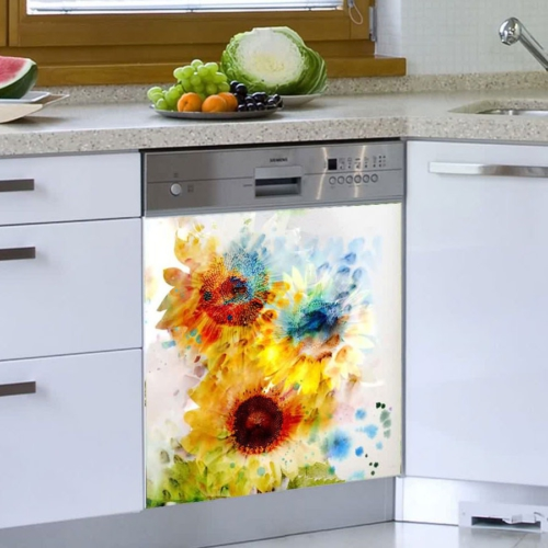 Decor Desing Beyaz Eşya Sticker Bev37