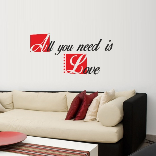 Decor Desing Yazılı Sticker Kon035