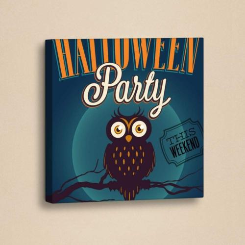 Decor Desing Halloween Kanvas Tablo Hl030