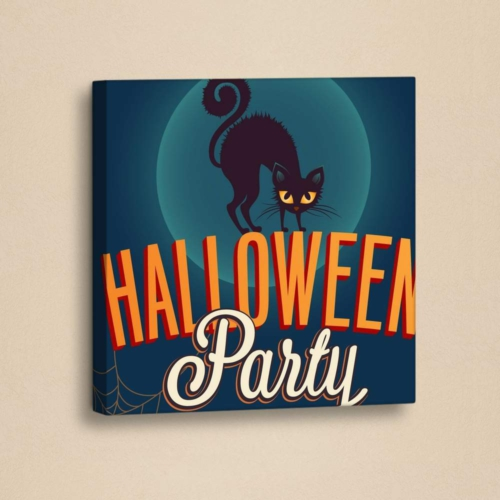 Decor Desing Halloween Kanvas Tablo Hl031