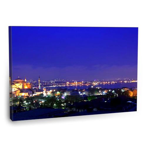 Fotografyabaskı İstanbul Tablo 75 Cm X 50 Cm Kanvas Tablo Baskı