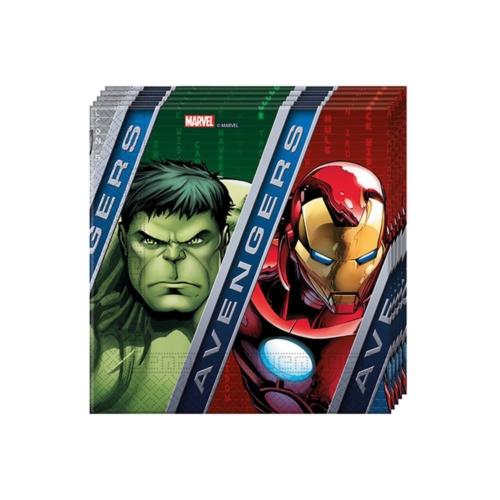 Hkostüm Avengers & Yenilmezler Peçete