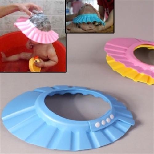 Original Boutique Bebek Banyo Şapkası -Düğmeli (Mindersiz)