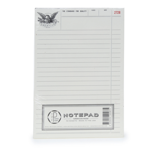 Beymen Home Hester&Cook Amerıcan Made Notepad Beyaz Not Defteri