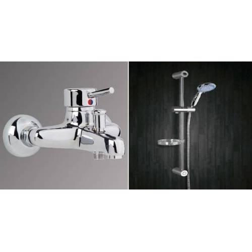 Erce Delta Banyo Bataryası Ve Sürgülü Duş Takımı