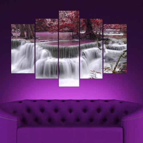 5 Parçalı Dekoratif Tablo Y5tp057