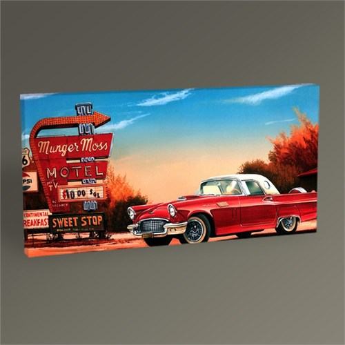 Tablo 360 Vintage Car V Tablo 60X30