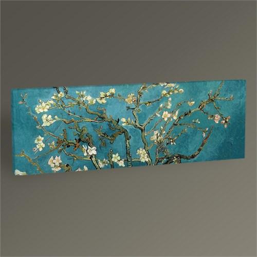Tablo 360 Vincent Van Gogh-Badem Dalları Tablo 60X20