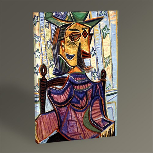 Tablo 360 Pablo Picasso Dora Maar İn An Armchair Tablo 45X30