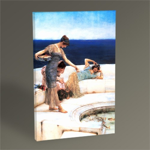 Tablo 360 Sir Lawrence Alma Tadema Silver Favorites Tablo 45X30