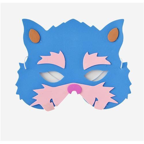 Partisepeti Mavi Kedi Maske