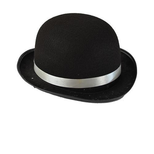 Partisepeti Siyah Charlie Chaplin Model Şapka