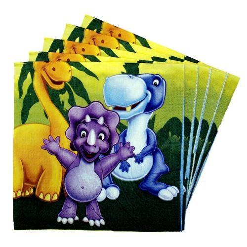 Partisepeti Sevimli Dinozorlar Peçete