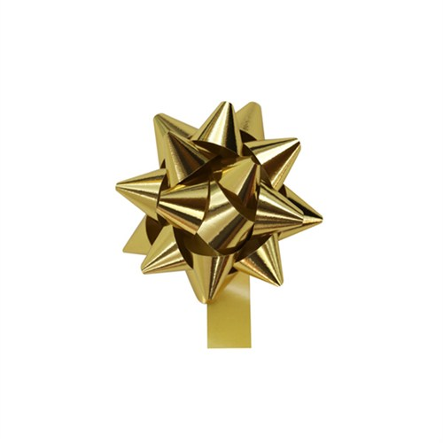 KullanAtMarket Metalik Altın Fiyonk Süs