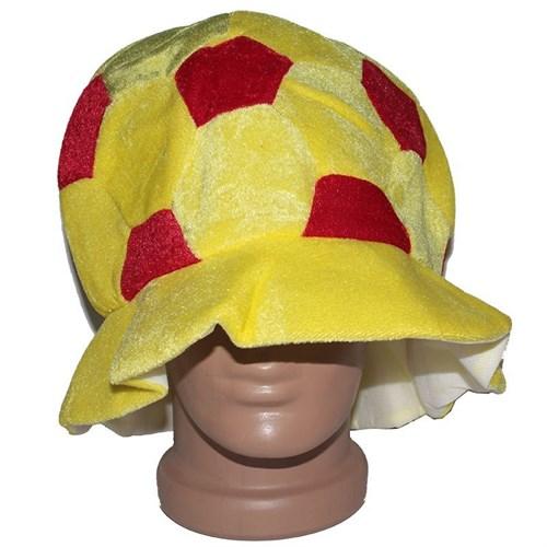 Pandoli Kırmızı Sarı Parti Şapkası