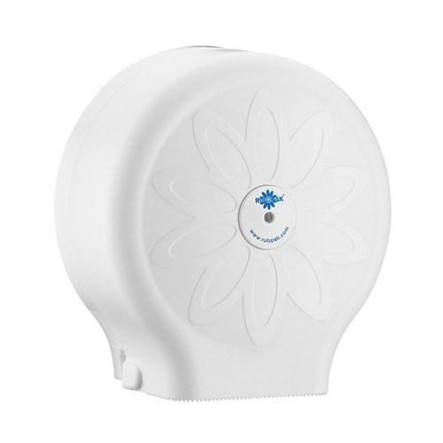 Rulopak Mini Jumbo Tuvalet Kağıdı Verici Beyaz