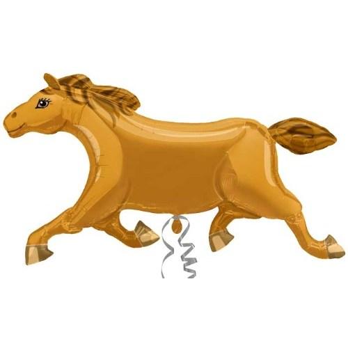 Parti Paketi Chocolate Pony Ambalajsız Supershape Folyo Balon