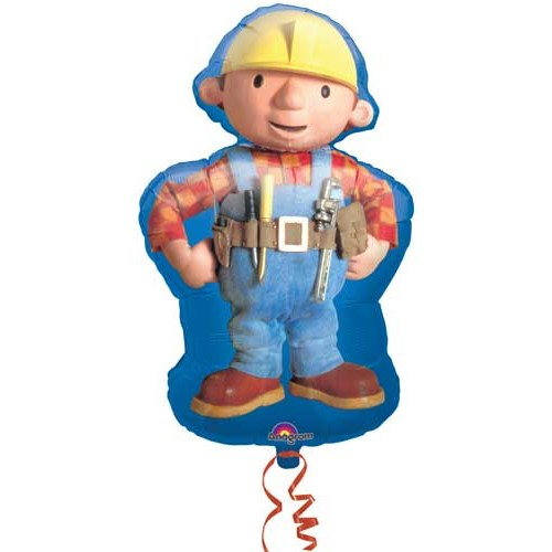 Parti Paketi İnşaatçı Bob The Builder Supershape Folyo Balon