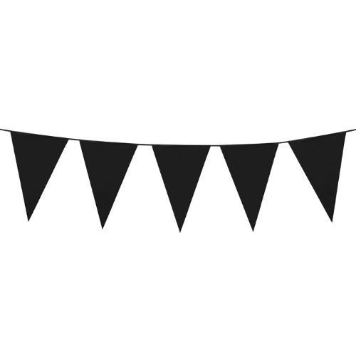 Parti Paketi Siyah Büyük Bayrak Dizisi 10M