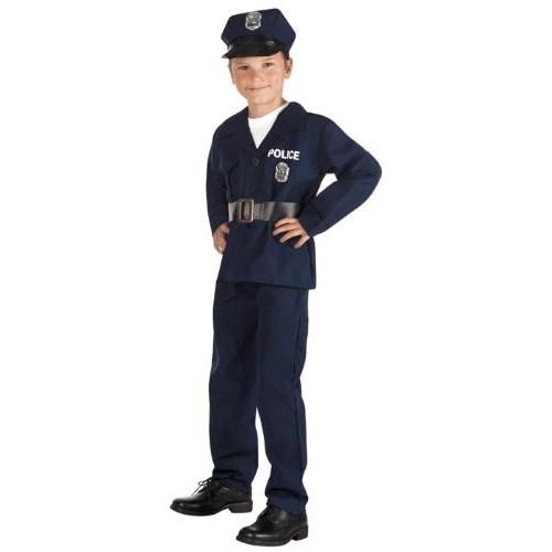 Parti Paketi Polis Kostümü 4-6 Yaş