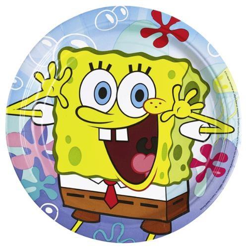 Parti Paketi Sponge Bob Tabak 8'Li