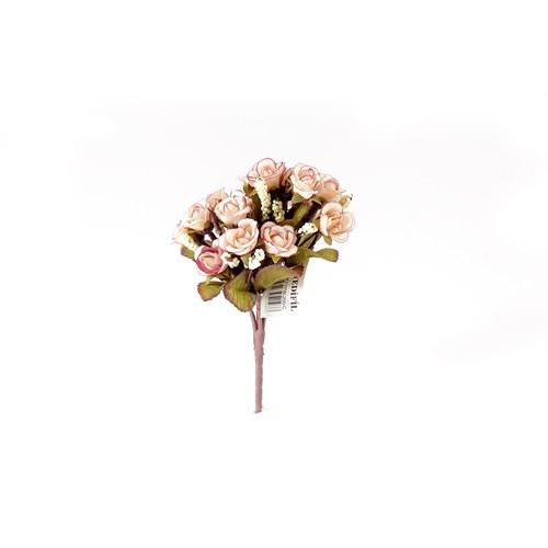 Yedifil Kamelya Krem Yapay Çiçek1 Alana 1 Bedava