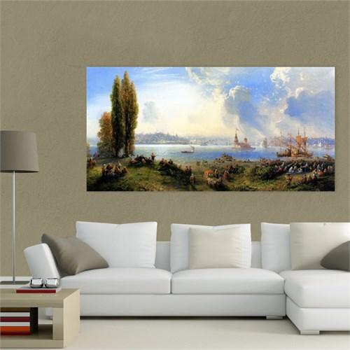 Atlantis Tablo İstanbul Kız Kulesi Manzarası 80X40 Cm