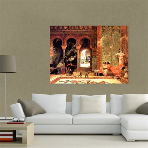 Atlantis Tablo Haremden Görünüm 65X50 Cm